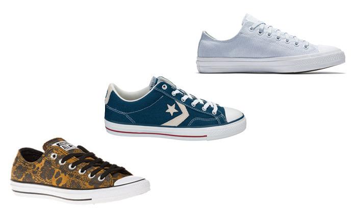 2 נעלי סניקרס לנשים קונברס Converse