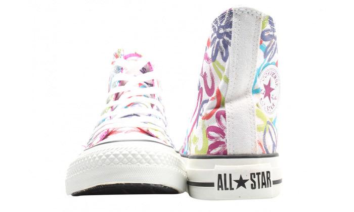 6 נעלי סניקרס גבוהות לנשים אולסטאר All Star