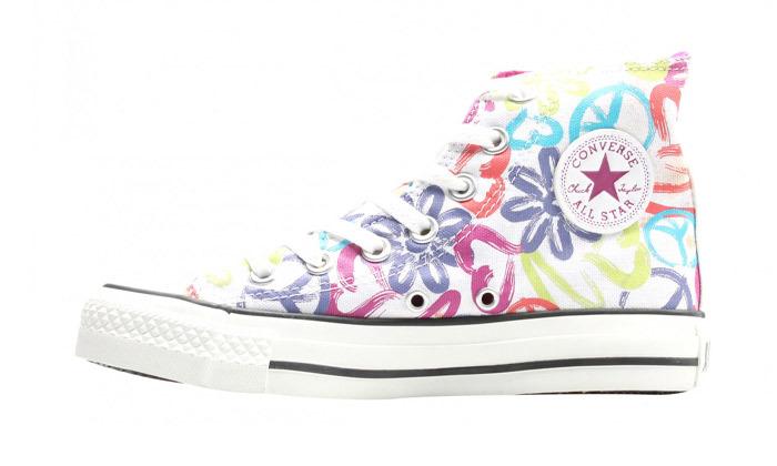 8 נעלי סניקרס גבוהות לנשים אולסטאר All Star