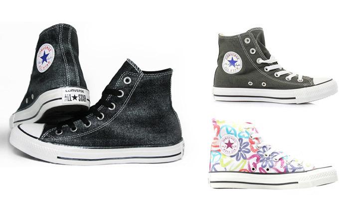2 נעלי סניקרס גבוהות לנשים אולסטאר All Star