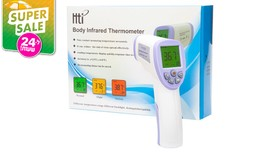 מד חום דיגיטלי ללא מגע