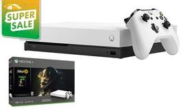 קונסולת Xbox One X ומשחק
