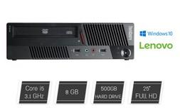מחשב נייח Lenovo i5 עם מסך