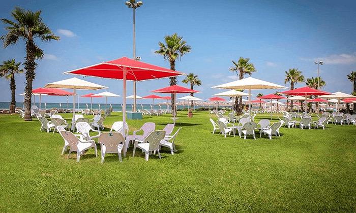7 חבילת עיסוי וספא במלון חוף התמרים עכו