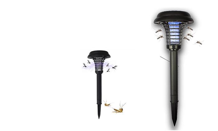 2 זוג קטלני יתושים סולאריים ניידים