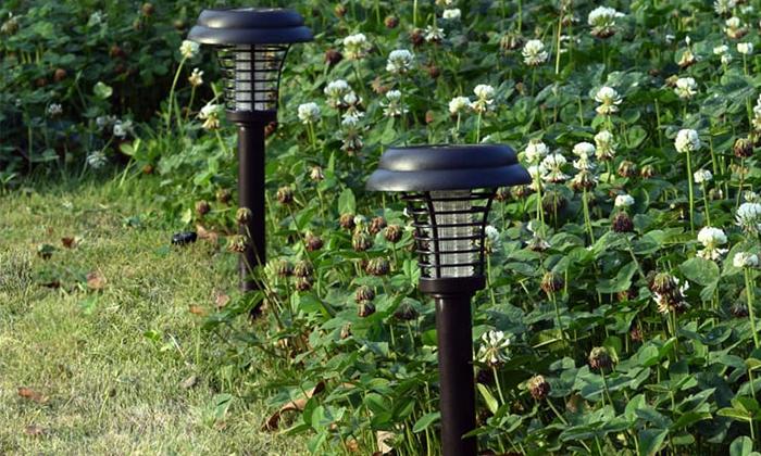 3 זוג קטלני יתושים סולאריים ניידים