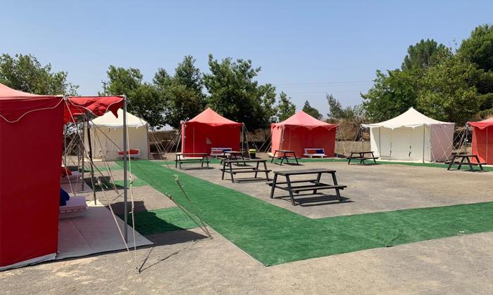 2 אוגוסט משפחתי במתחם האוהלים של כפר הנופש עין זיוון