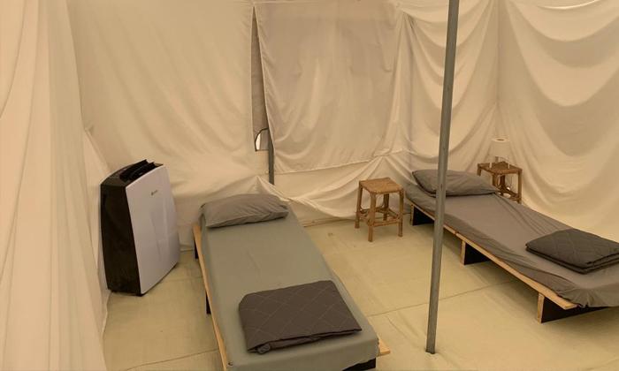 4 אוגוסט משפחתי במתחם האוהלים של כפר הנופש עין זיוון