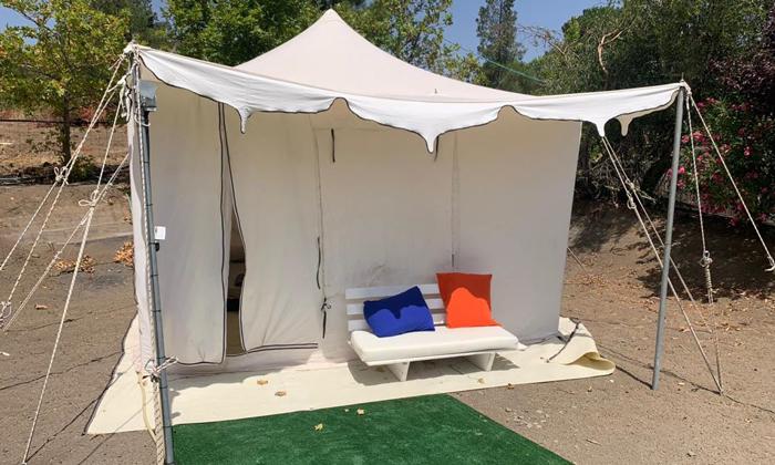 5 אוגוסט משפחתי במתחם האוהלים של כפר הנופש עין זיוון