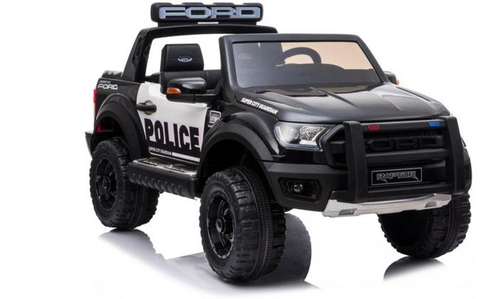 4  ג'יפ פורד משטרתי ממונע לילדים