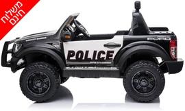 ג'יפ משטרה חשמלי לילדים