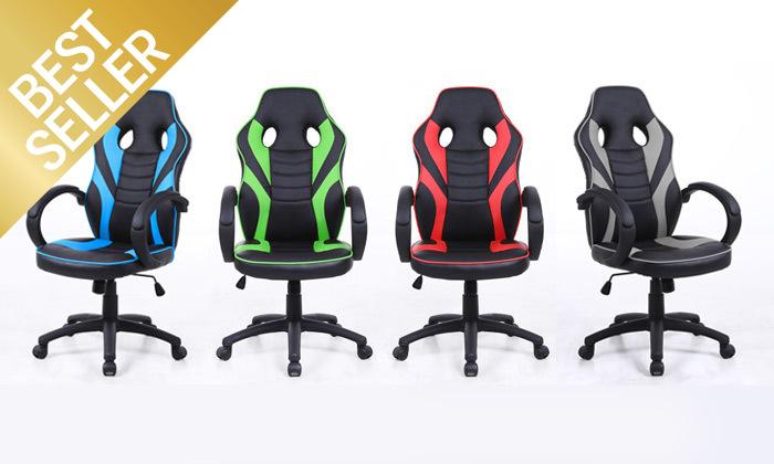 2 כיסא גיימרים דגם SUPREME