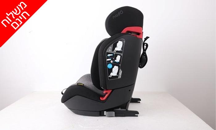 4 כיסא תינוק משולב בוסטר NADO - משלוח חינם