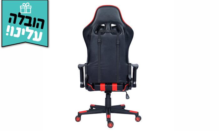 8 כיסא גיימרים על גלגלים - משלוח חינם