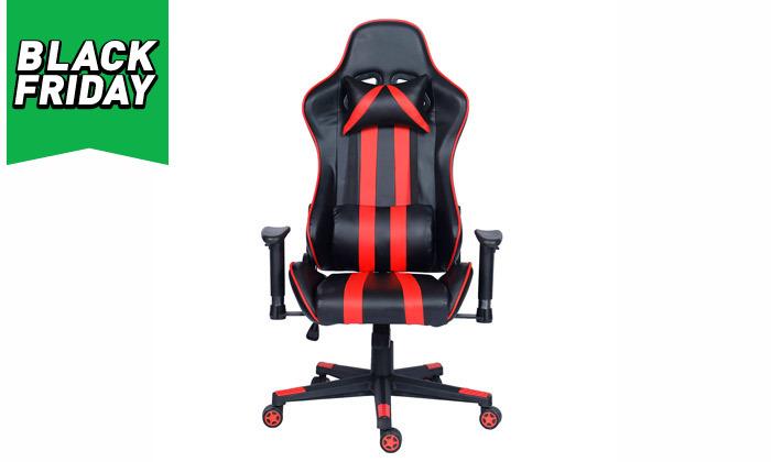 6 כיסא גיימרים על גלגלים