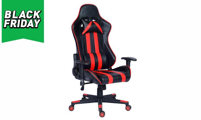 10 כיסא גיימרים על גלגלים