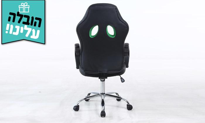 8 כיסא גיימינג ארגונומי - משלוח חינם