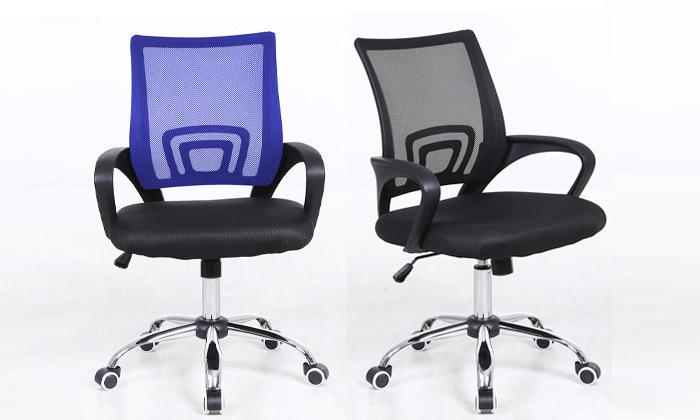 2 כיסא סטודנט על גלגלים