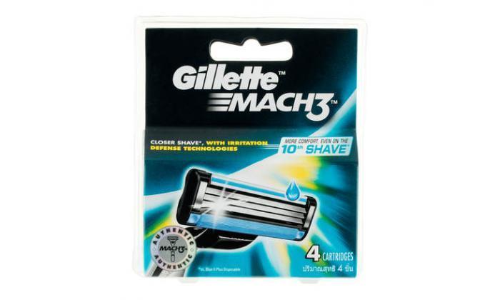 3 40 סכיני גילוח Gillette Mach3