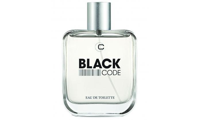 2 בושם לגבר BLACK CODE