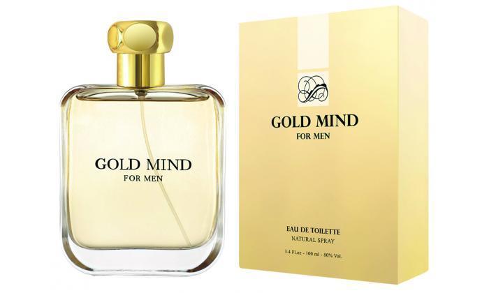 2 בושם לגבר GOLD MIND גולד מיינד