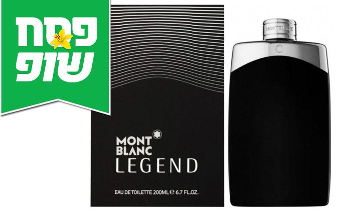 """2 בושם לגבר מון בלאן 200 מ""""ל Montblanc Legend"""