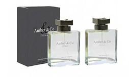 זוג בשמים לגבר Amber&Co