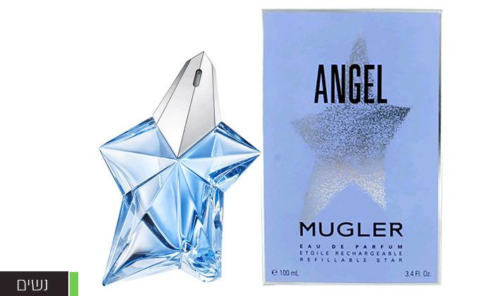 4 בושם ANGEL לגבר לאישה