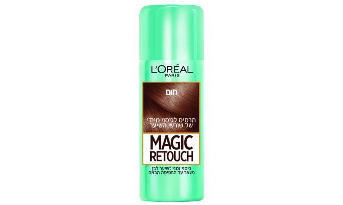3 3 יחידות ספריי לשיער magic retouch של L'Oréal Paris