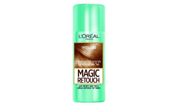 4 3 יחידות ספריי לשיער magic retouch של L'Oréal Paris