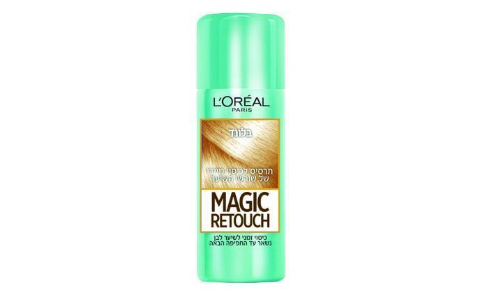 5 3 יחידות ספריי לשיער magic retouch של L'Oréal Paris