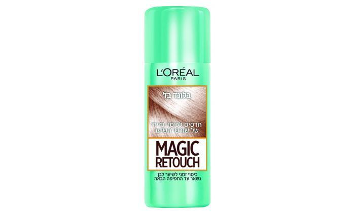 6 3 יחידות ספריי לשיער magic retouch של L'Oréal Paris
