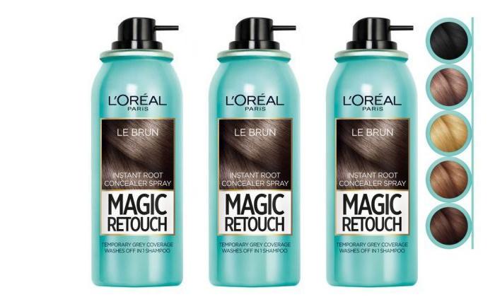 2 3 יחידות ספריי לשיער magic retouch של L'Oréal Paris