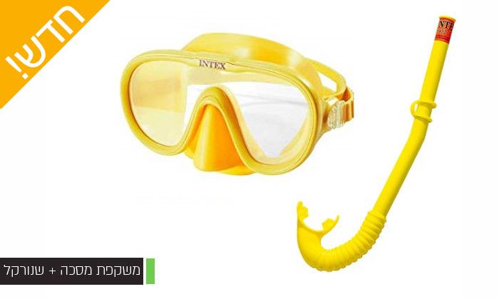 8 מגוון מוצרים לים ולבריכה INTEX