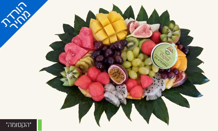 """3 מגש פירות כולל משלוח לת""""א - פרי היופי"""