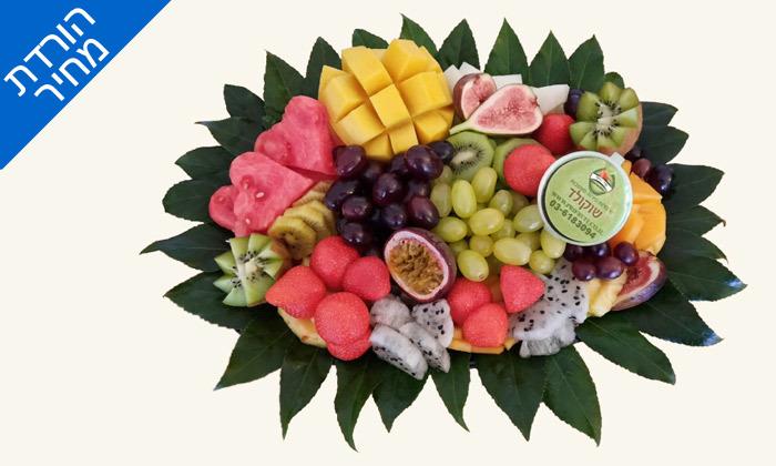 """2 מגש פירות כולל משלוח לת""""א - פרי היופי"""