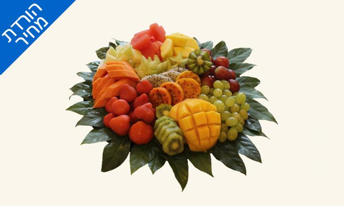 """4 מגש פירות כולל משלוח לת""""א - פרי היופי"""