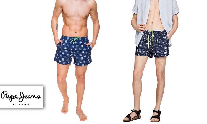 2 בגד ים לגברים פפה ג'ינס Pepe Jeans