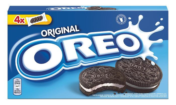 3 12 חבילות אוראו OREO - עוגיות סנדוויץ' בטעם שוקולד עם קרם וניל