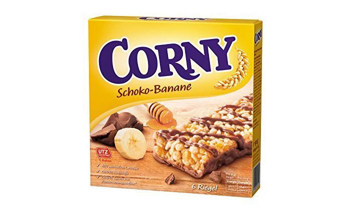 3 10 מארזי חטיפי דגנים כשרים קורני קלאסיק Corny Classic