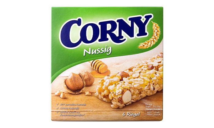 5 10 מארזי חטיפי דגנים כשרים קורני קלאסיק Corny Classic