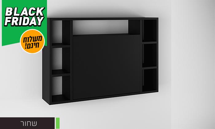 6 שולחן מחשב תלוי מתקפל RAZCO - משלוח חינם