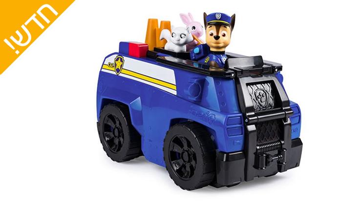 4 רכב משטרה - מפרץ ההרפתקאות