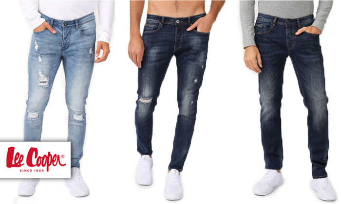 2 ג'ינס לגברים לי קופר Lee Cooper