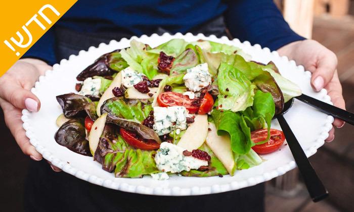 """10 ארוחה ב-Wine Garden עם יין, גבינות וברוסקטות, ליד הים בת""""א"""