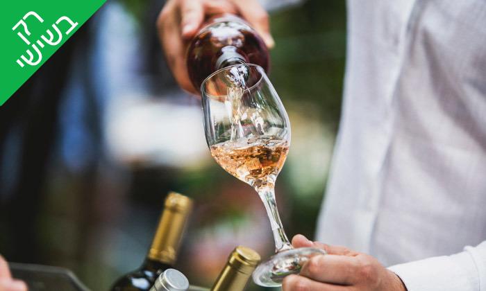 """2 קבלת שבת ב-Wine Garden של באבא יאגה, ת""""א"""