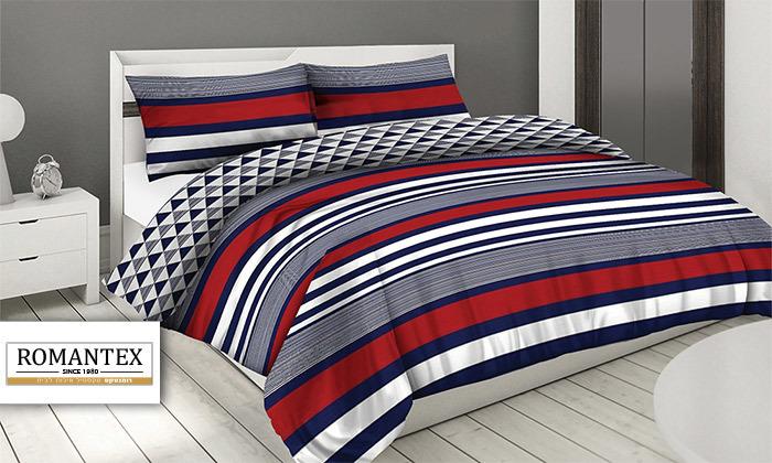 2 סט מצעים 100% כותנה ROMANTEX למיטת יחיד או זוגית