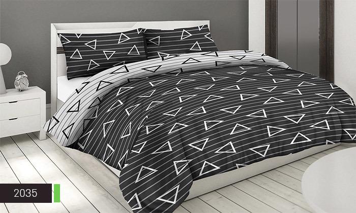 3 סט מצעים 100% כותנה ROMANTEX למיטת יחיד או זוגית