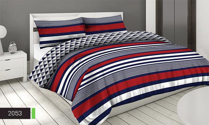 7 סט מצעים 100% כותנה ROMANTEX למיטת יחיד או זוגית