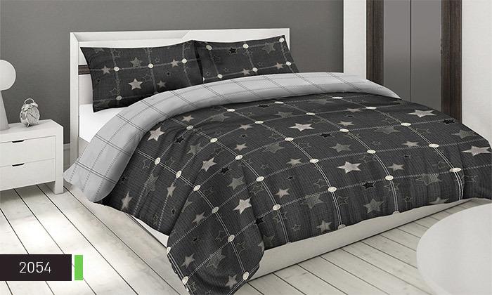 8 סט מצעים 100% כותנה ROMANTEX למיטת יחיד או זוגית